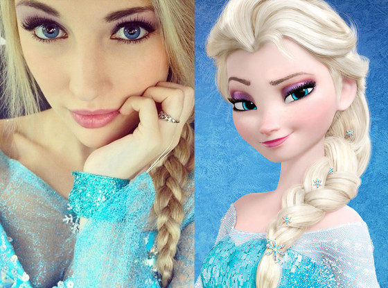 Elsa, Instagram