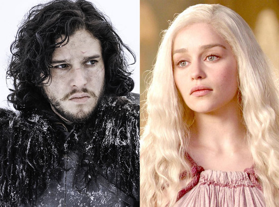 Game of Thrones, Kit Harington, Emilia Clarke