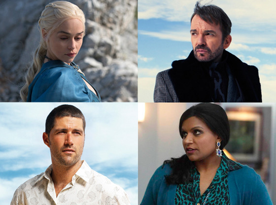 Game of Thrones, Lost, Mindy Project, Fargo