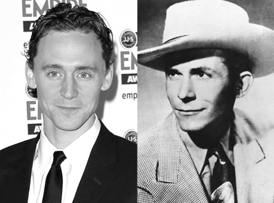 Tom Hiddleston, Hank Williams