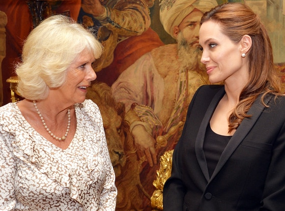 Camilla, Duchess of Cornwall, Angelina Jolie