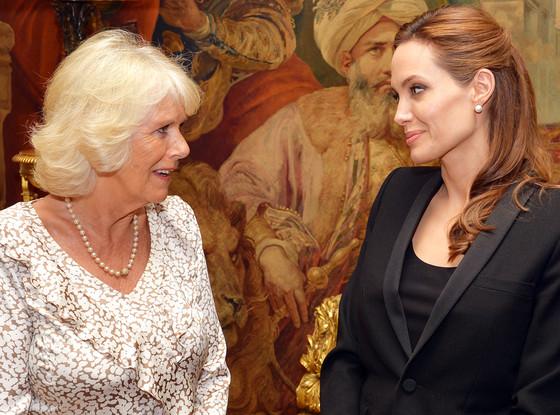 Camilla, Duchess of Cornwall, Angelina Jolie