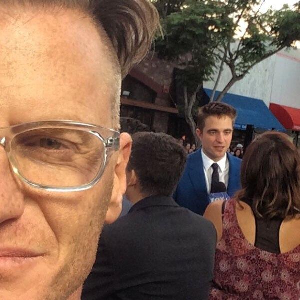Marc Malkin, Robert Pattinson, Instagram