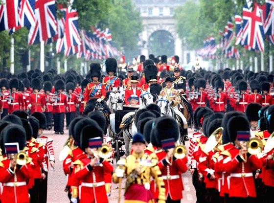 Trooping the Colour, Queen Elizabeth