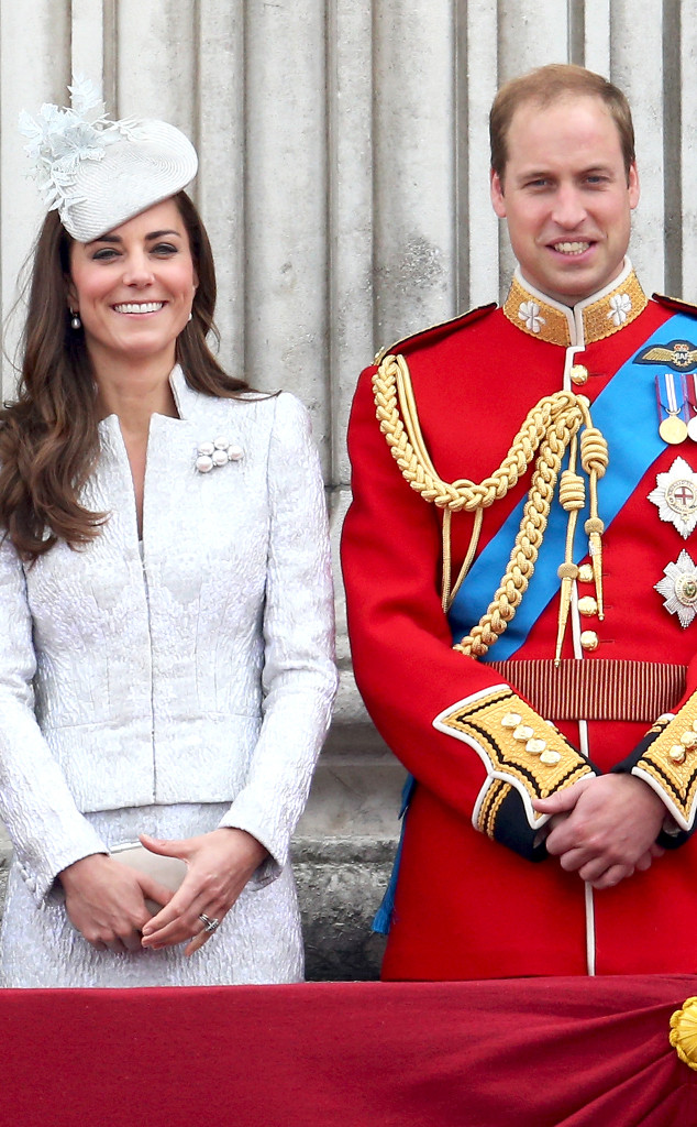 Trooping the Colour, Catherine, Duchess of Cambridge, Kate Middleton, Prince William, Duke of Cambridge
