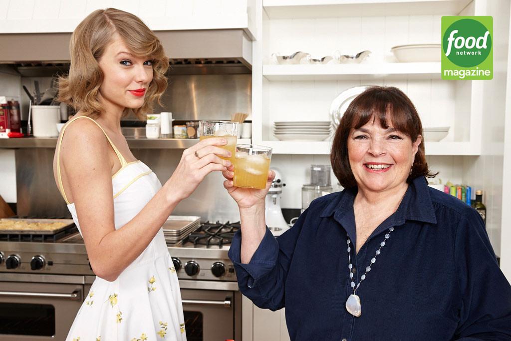 Taylor Swift, Ina Garten, Food Network Magazine
