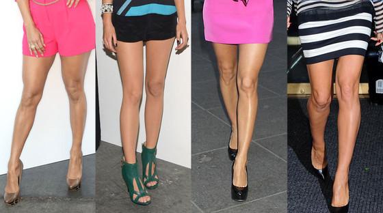 Best Female Legs: Jennifer Lopez, Blake Lively, Eva Longoria, Heidi Klum