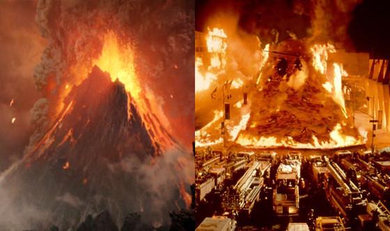 Volcano vs. Dante's Peak