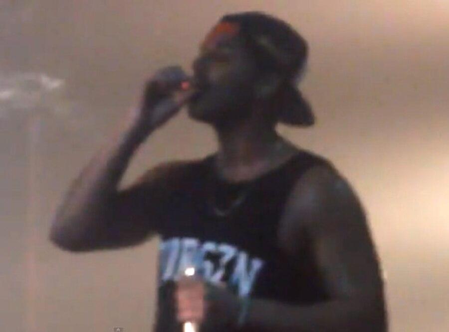 Drake, Smoking