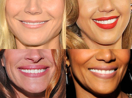 Best Female Smile: Gwyneth Paltrow, Jessica Alba, Halle Berry, Julia Roberts