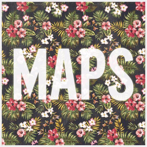 Maps, Maroon 5, Twitter