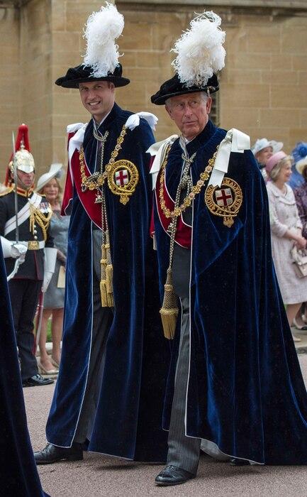 Prince William, Prince Charles
