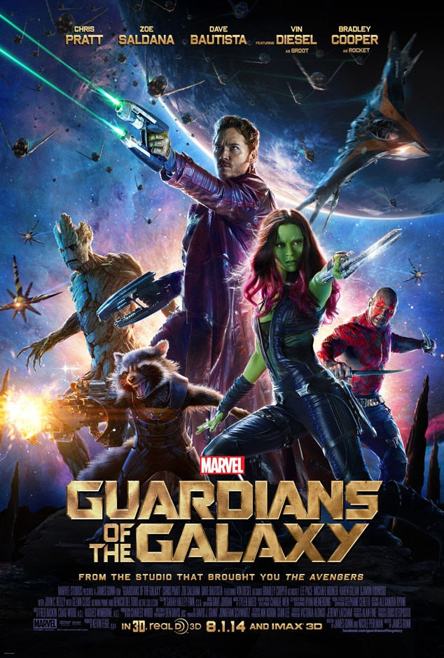 Guardians of the Galaxy, Posters