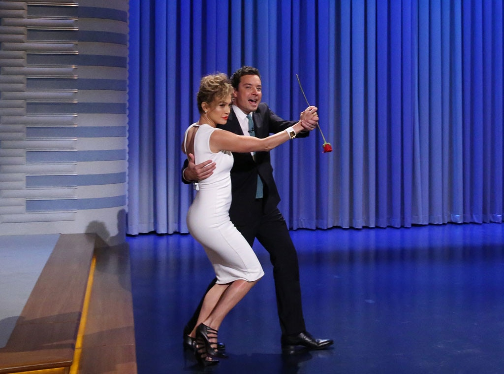 Jennifer Lopez, Jimmy Fallon, Tonight Show