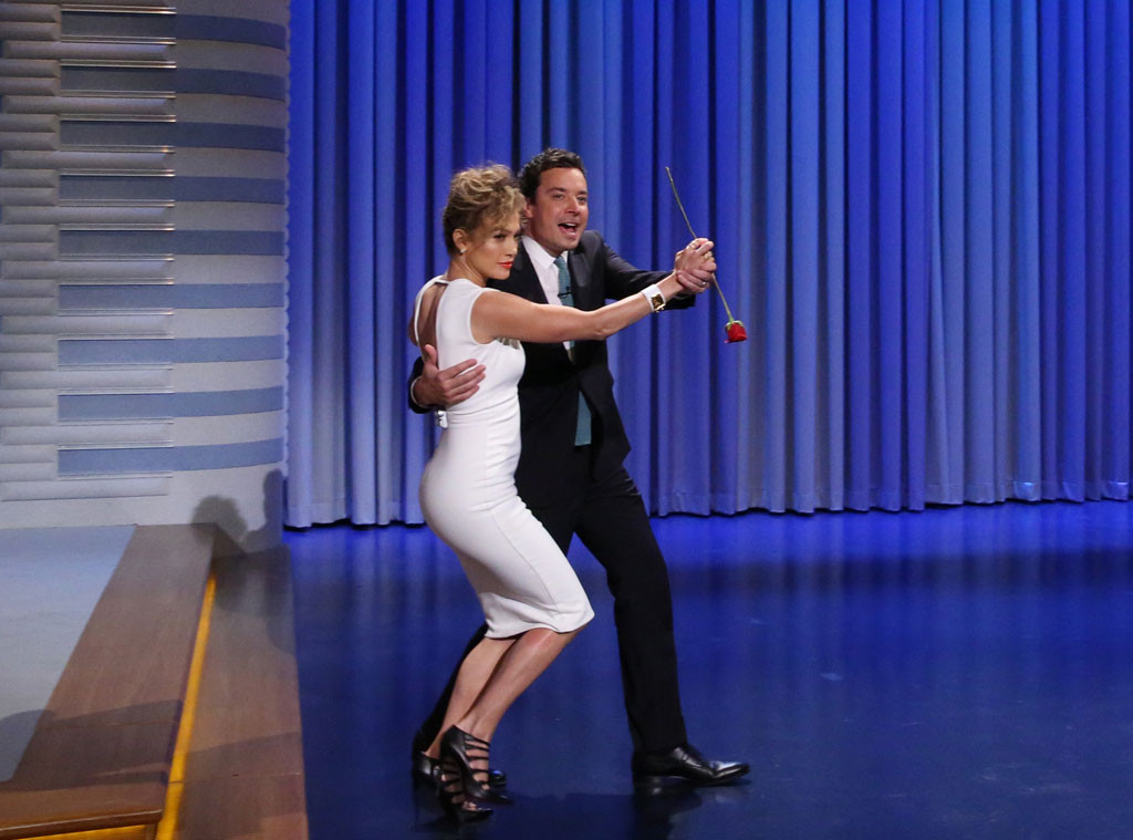 Jennifer Lopez, Jimmy Fallon, Tonight Show