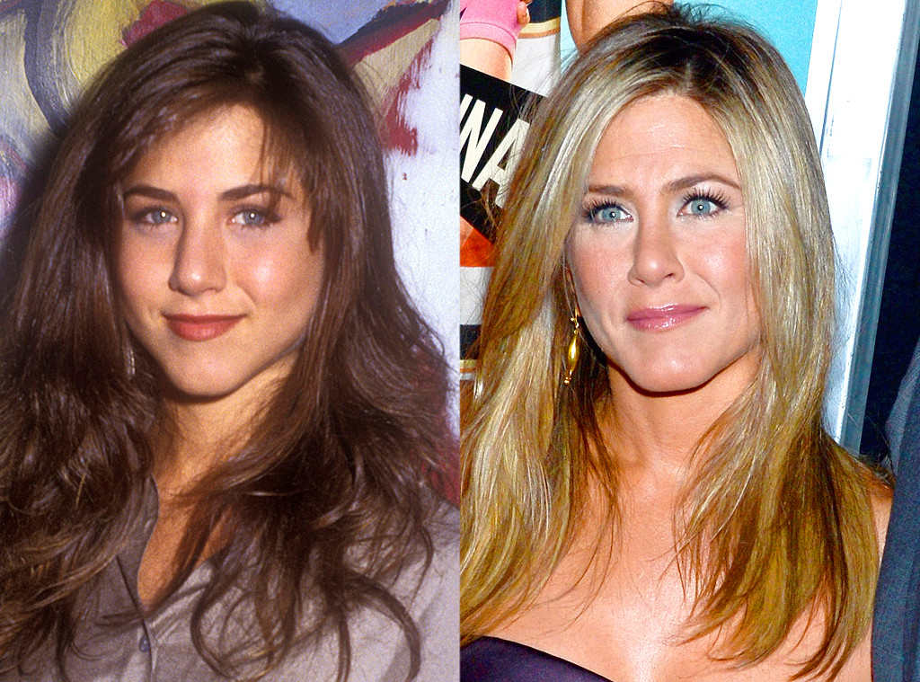 Jennifer Aniston From Celebrities Who Got A Nose Job To