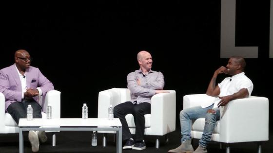 Kanye West, Steve Stoute, Ben Horowitz