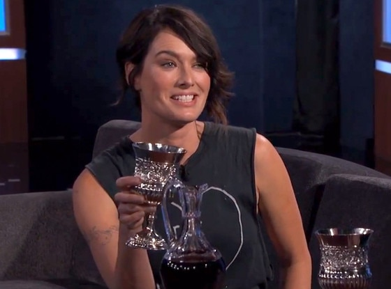 Lena Headey, Jimmy Kimmel