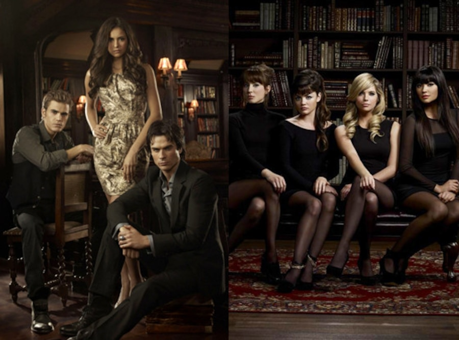 Vampire Diaries, Pretty Little Liars