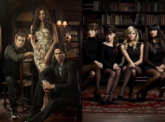 Vampire Diaries, Pretty Little Liars