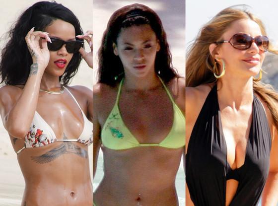 Rihanna, Beyonce, Sofia Vergara