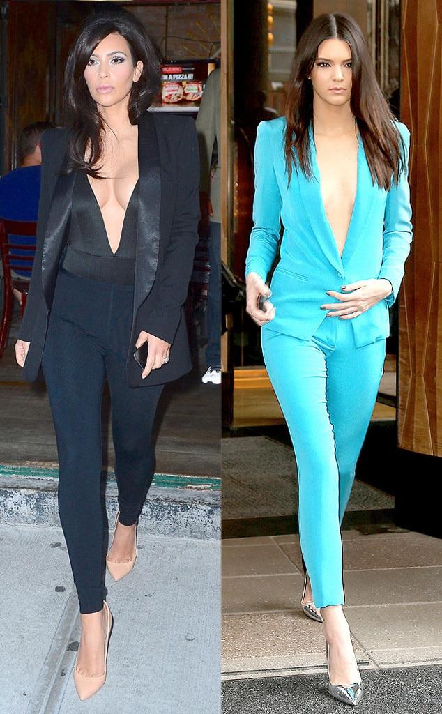 Kim Kardashian West, Kendall Jenner