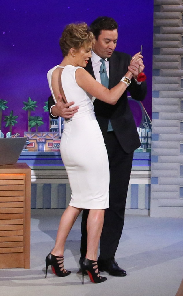 Jennifer Lopez, Jimmy Fallon