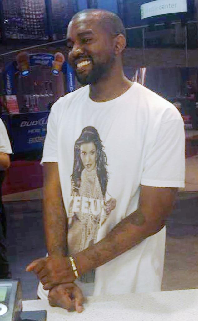Celeb T-shirts, Kanye West