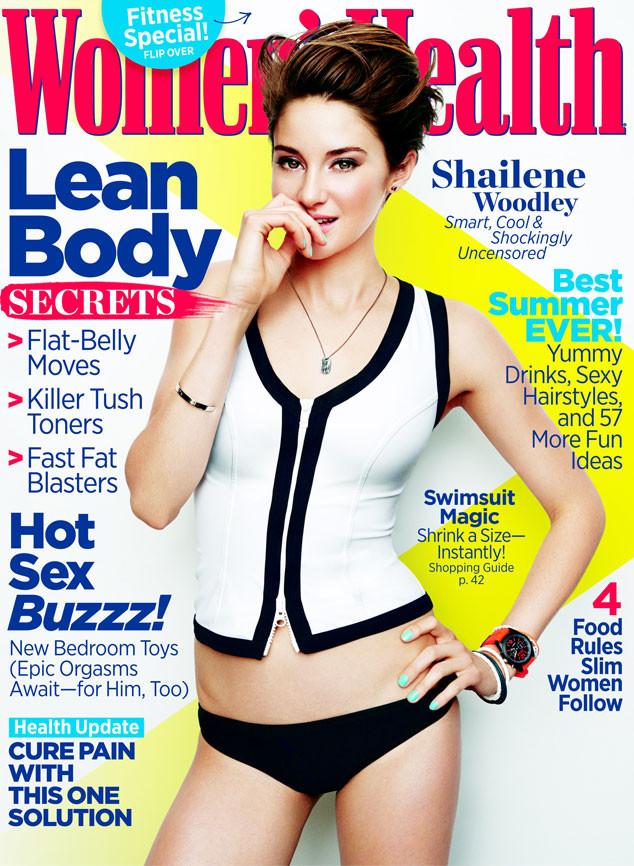 Shailene Woodley, Women's Health Magazine