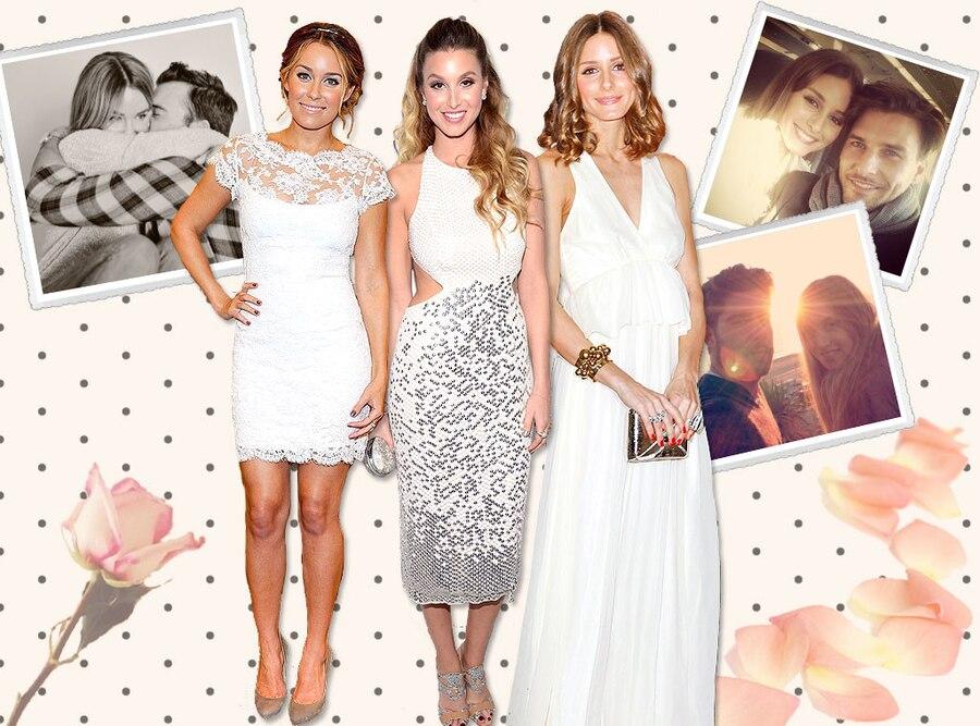 Lauren Conrad, Whitney Port, Olivia Palermo, The Hills Wedding, Carousel
