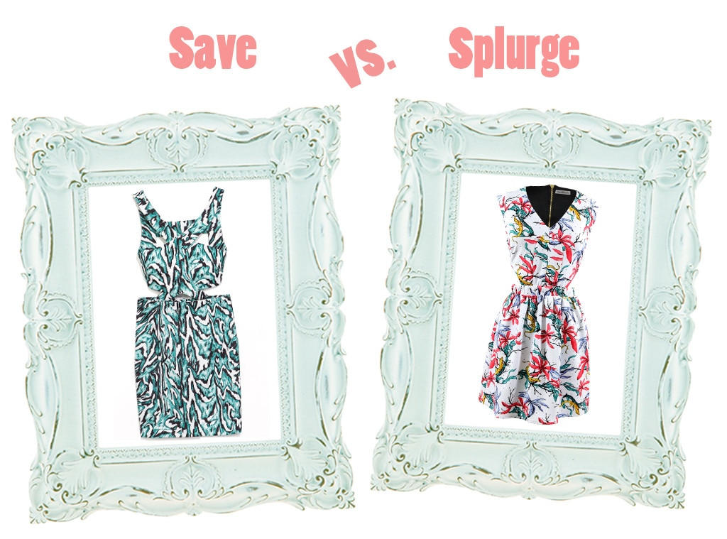 Summer Dresses, Save vs. Splurge