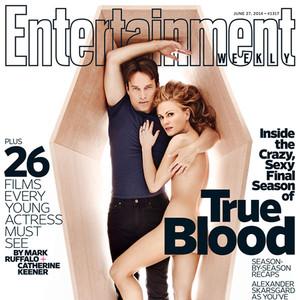 Anna Paquin, Stephen Moyer, True Blood, EW