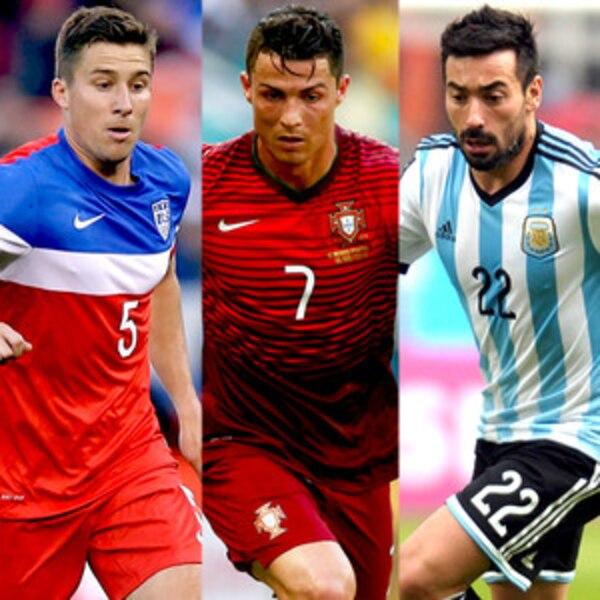 2014 World Cup Fashion: Which Team Scores Best Uniform ...