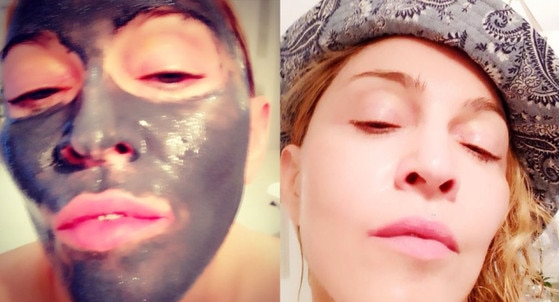 Madonna, Face Mask, Instagram