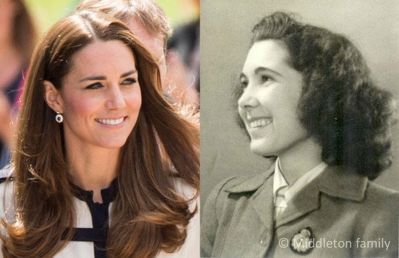 Kate Middleton, Valerie Middleton