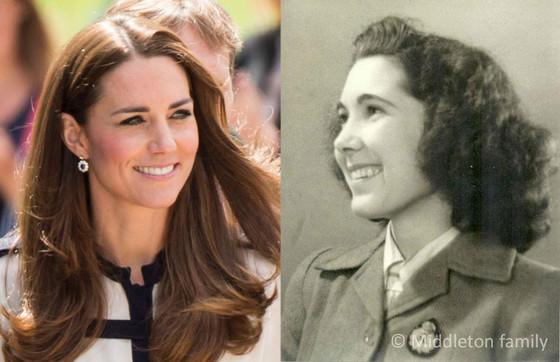 Kate Middleton, Valerie Middleton