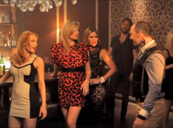 Kate Upton, Tony Hale, Bartender Music Video