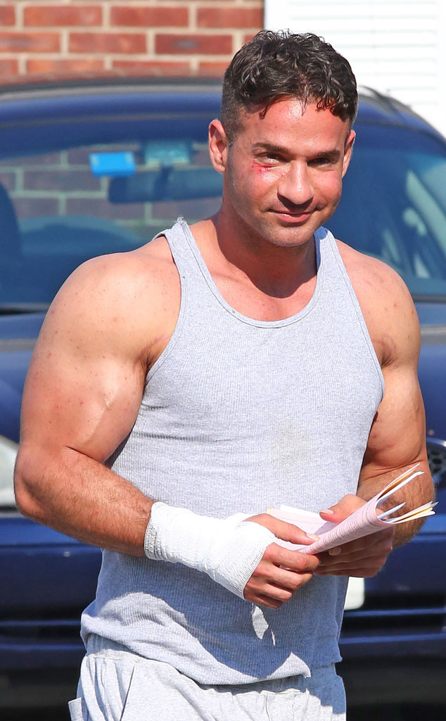 Mike The Situation Sorrentino lost a lot of weight in prison