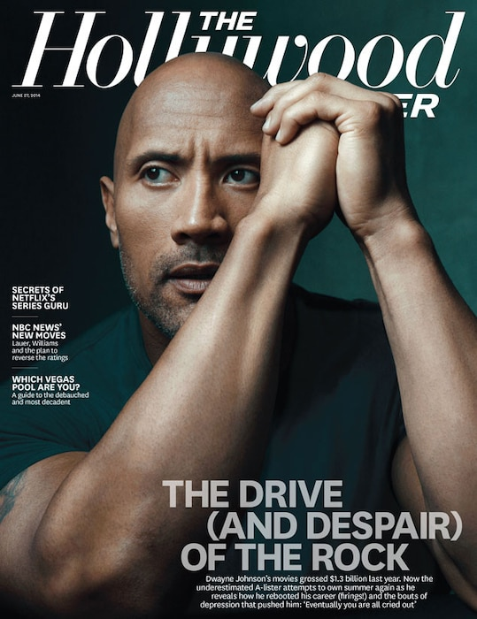 The Hollywood Reporter, Dwayne Johnson, The Rock
