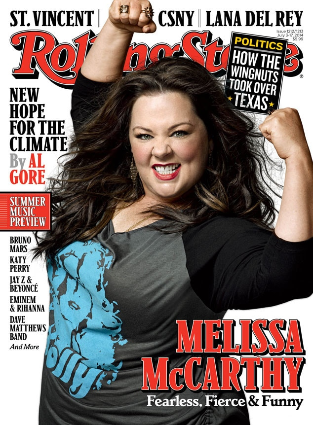 Melissa McCarthy, Rolling Stone