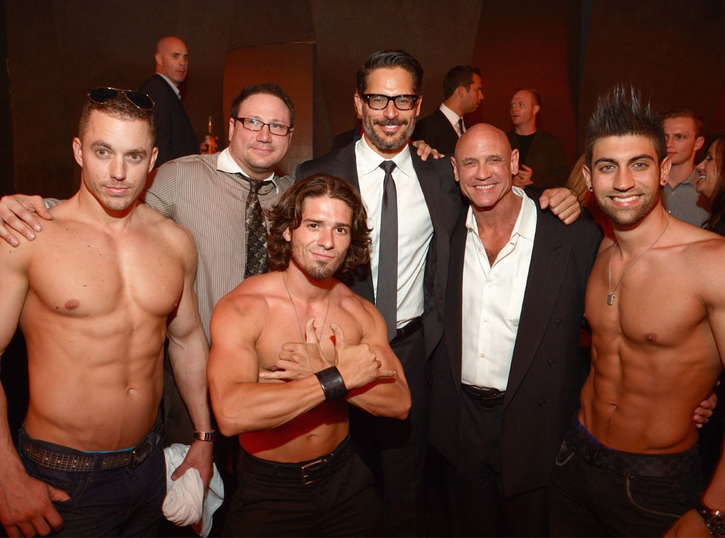 Joe Manganiello, Dancers from La Bare