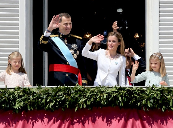 Princess Leonor, Princess of Asturias, King Felipe VI of Spain, Queen Letizia of Spain and Princess Sofia