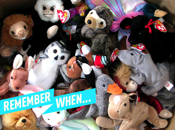 Remember When, Beanie Babies