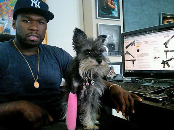 50 Cent, Dog, Oprah