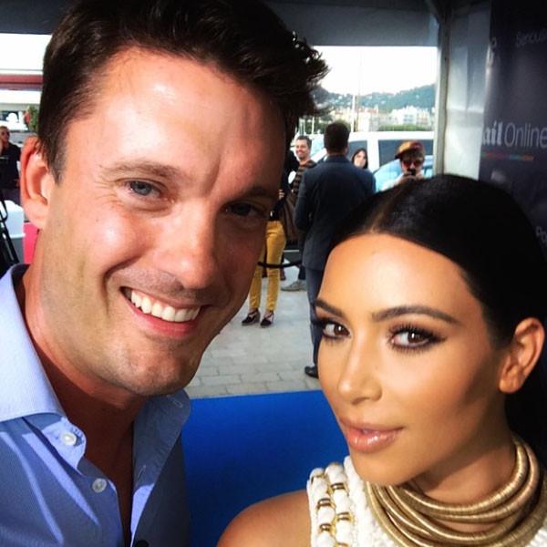 Kim Kardashian, Keir Simmons, Instagram