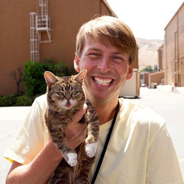 Celebs with Cats, Jack McBrayer