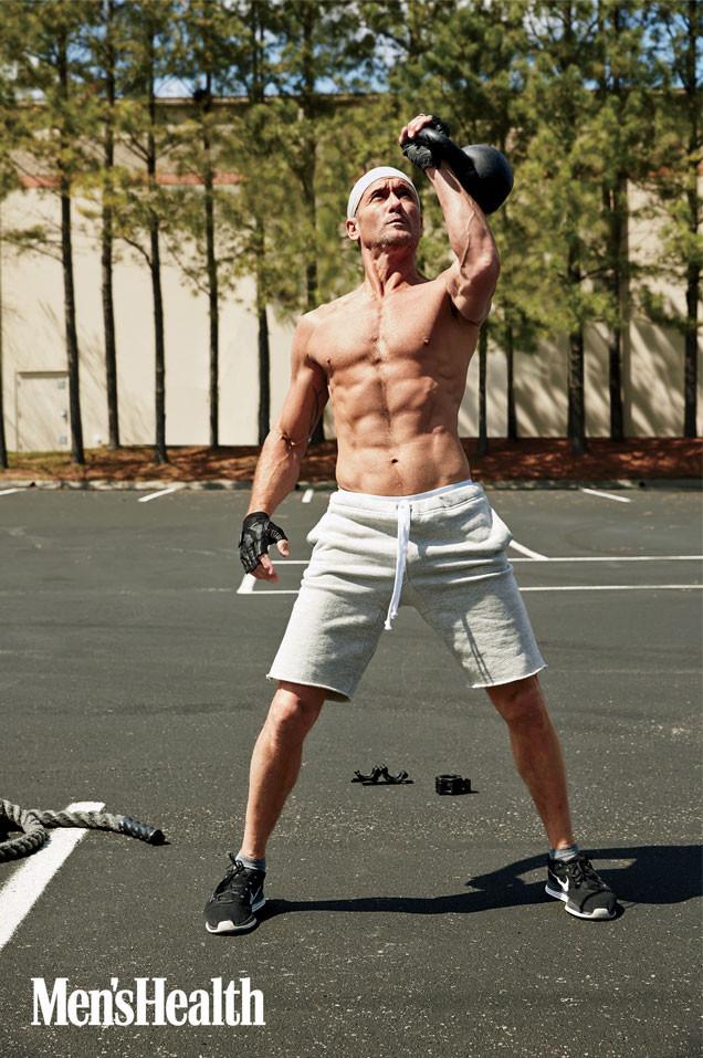 Tim McGraw, Men's Health