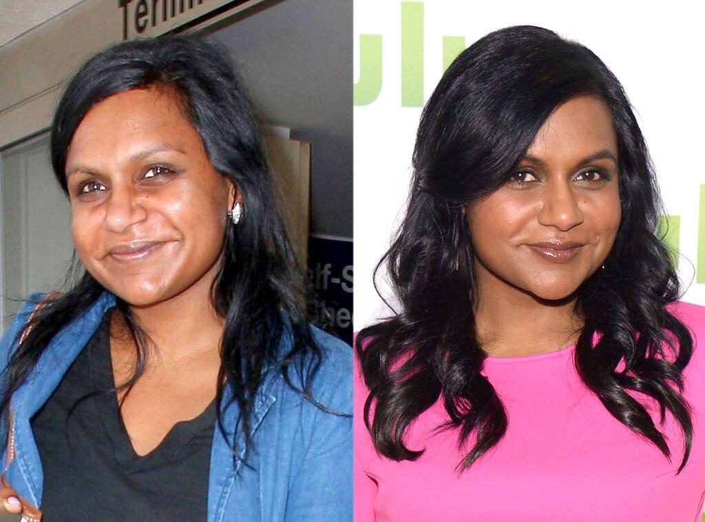 Mindy Kaling, No Makeup