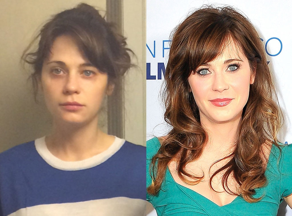 Zooey Deschanel, No Makeup