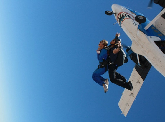 The Fabulist, Bucket List, Skydiving